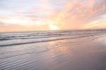 On the beach…